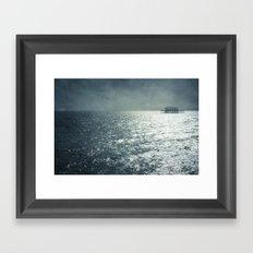 never forgotten Framed Art Print