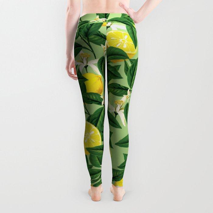 Lemonade    #society6 #decor #pattern Leggings