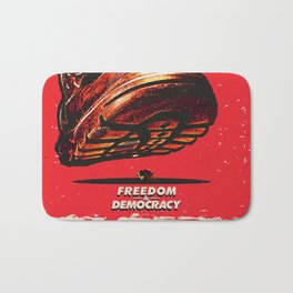 Freedom and Democracy Bath Mat