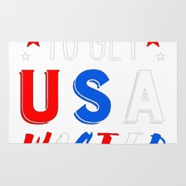 TIME TO GET USA WASTED T-SHIRT Rug