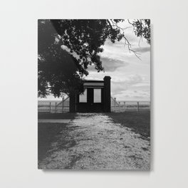 Beauvoir Gate Metal Print