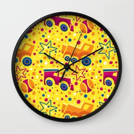 Party of toys Wall Clock