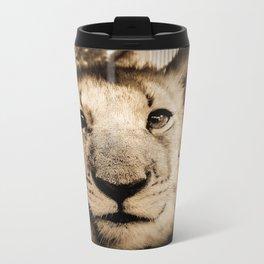 Lion cub Metal Travel Mug