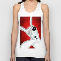 kangaroo Tank Tops featuring Kangaroo by Soso Creation
