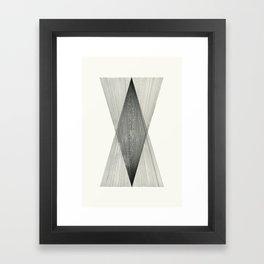 Intersect Framed Art Print