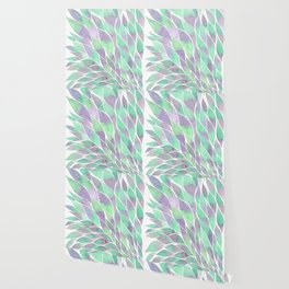 Feathers painting watercolors Wallpaper