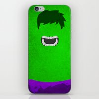 hulk iPhone & iPod Skins featuring Hulk by theLinC