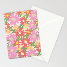 floral party Stationery Cards