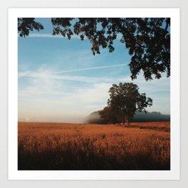 Like Heaven's Wind Art Print