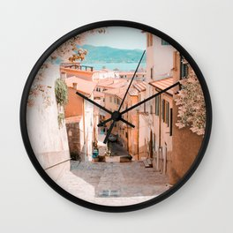 Summer Time In Italy Wall Clock