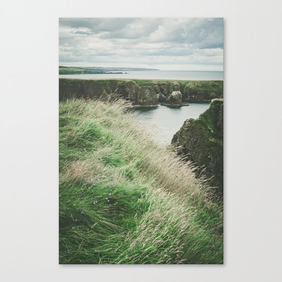 East coast of Scotland Canvas Print
