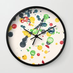 Crayon Love: Splatter This Wall Clock