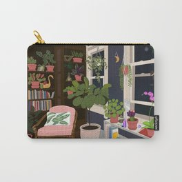 House Plant House Carry-All Pouch