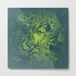oil spill Metal Print