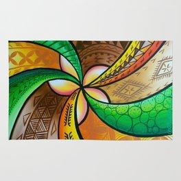 Abstract Pua Rug