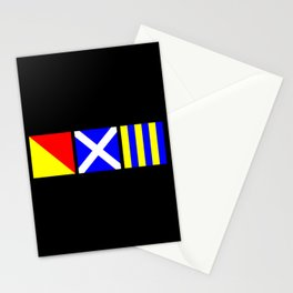 Nautical Flags | OMG Oh My God! Stationery Cards