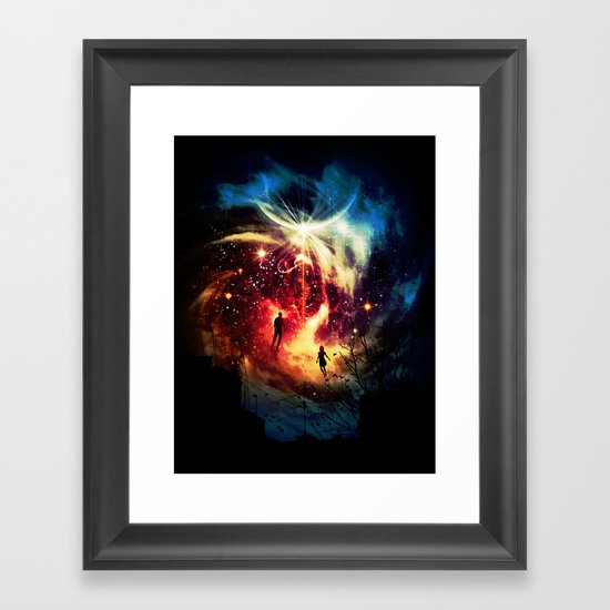 Surface to Air Framed Art Print
