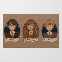 The Golden Trio Rug