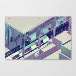 Subway Canvas Print