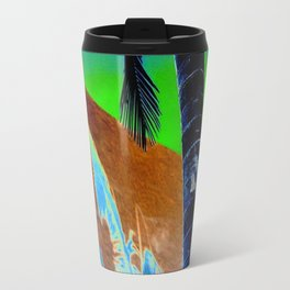 Palm Sunset Travel Mug