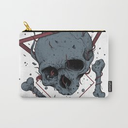 Drowning - Skull Arwork Carry-All Pouch