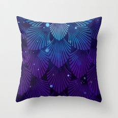 Variations on a Feather III - Raven Wing Deconstructed Throw Pillow