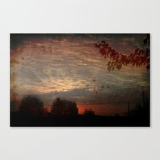The early bird gets the worm Canvas Print