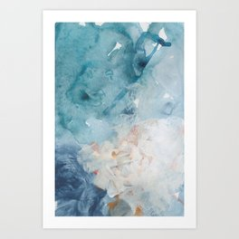 Number 75 Abstract Sky Art Print