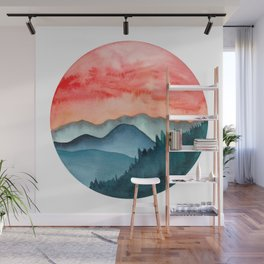 Mini dreamy landscape II Wall Mural