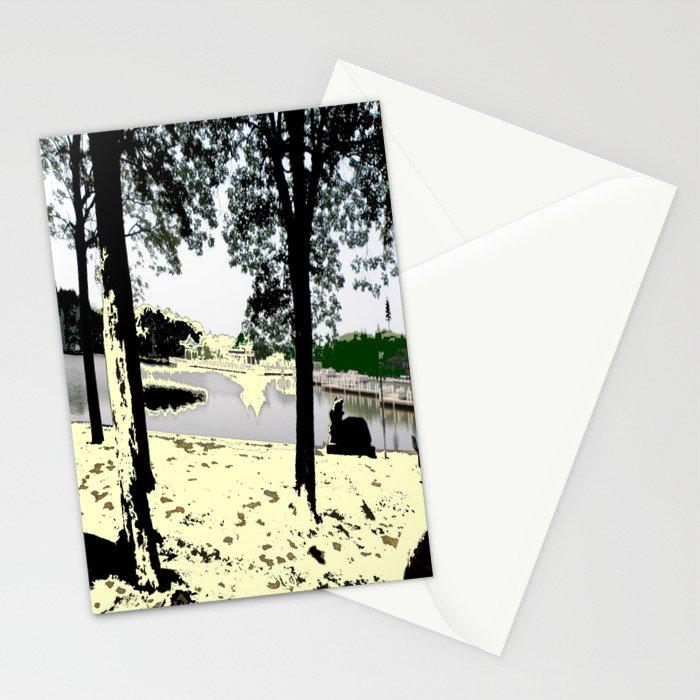 A Pleasant Day Stationery Cards