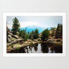 Gem Lake Art Print