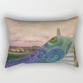 Autumn spirit - Glastonbury Tor, Somerset, England Rectangular Pillow
