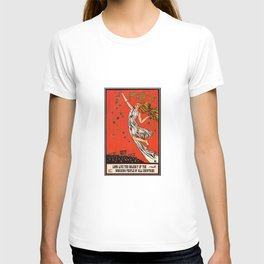 May Day Russian Revolution Poster T-shirt
