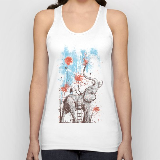 A Happy Place Unisex Tank Top
