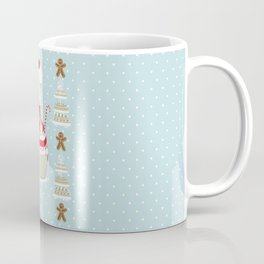 Merry Lady Christmas Cupcake Coffee Mug