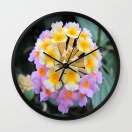 Sweet Flower Wall Clock