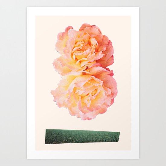 peachy keen Art Print