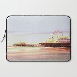 Santa Monica Pier Sunrise Laptop Sleeve