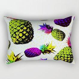 colorful pineapple pattren Rectangular Pillow