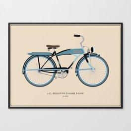 Vintage J.C. Higgins Bike Canvas Print