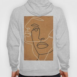Abstract Face 6 Hoody
