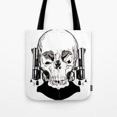 Revolver Beard Tote Bag