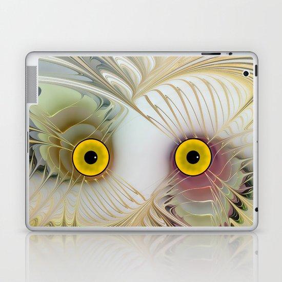 Abstract Owl Laptop & iPad Skin