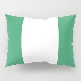 Flag of nigeria 2 -nigeria, nigerian,africa,hausa,igbo,Yoruba,Naira,Lagos,Kano Pillow Sham