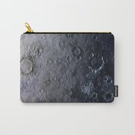 Moon Surface Carry-All Pouch
