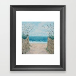 Sandbridge Shores Framed Art Print