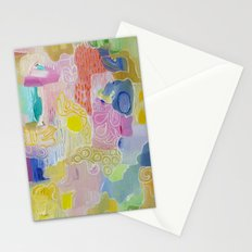 Abstract 55 Stationery Cards
