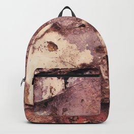 Grunge wall texture 5 Backpack