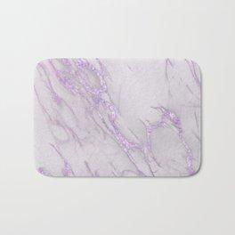 Marble Love Purple Metallic Bath Mat
