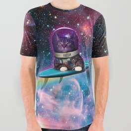 Spacesurfer Bruce All Over Graphic Tee